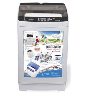 K.E-AWT-8200-B  Automatic Washing Machine - Grey & Maroon