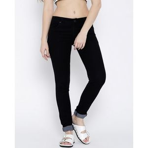 Black Slim Fit Stretchable Jeans