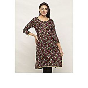 AT-REESHBrown Lawn Shirt For Women