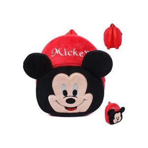 Mickey Plush Backpack For Kindergarden Nursery Kids