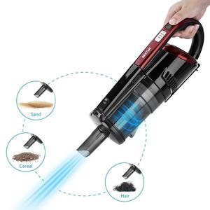 BESTEK Handheld Vacuum Cordless Rechargebale 14.4V Hand Vacuum Cleaner - Black - Black
