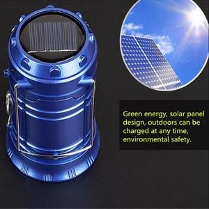 Portable Solar Torch Solar Energy Camping Lantern Light Outdoor Led Lantern New Hand-held Camping Lamp Telescopic Switch