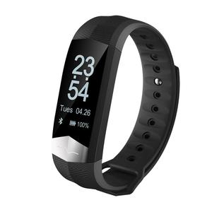 Bluetooth Smart Watch Heart Rate Monitor For Android IOS iPhone Samsung Phone Black