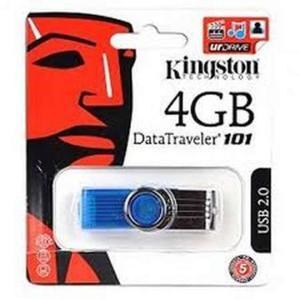Kingston 4 Gb Usb Fast Data Traveler By Kingston Multicolour