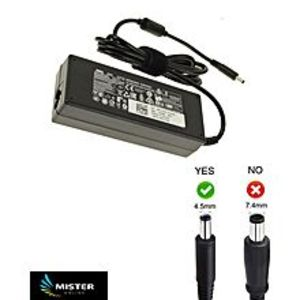 DELLXPS 15-9560 Laptop Notebook Charger Adapter AC Power Supply - Black