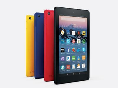 Amazone Fire Tablet (5th Gen) - 1gb Ram - 1.3 Ghz Speed - 16gb Storage - Wifi - 7inch - Black