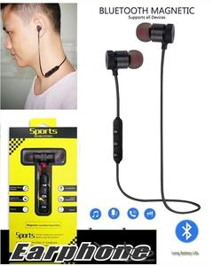 Magnetic M5 Bluetooth Headphones Sport Earphones Stereo Wireless Earset With Mic Mp3 Earbud Bt 4.1