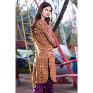 """""""SITARA STUDIO Sapna Collection Multicolor Lawn Unstitched - 2PCS  Suit For Women """""""