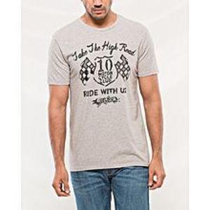 DenizenGrey Cotton T-Shirt For Men
