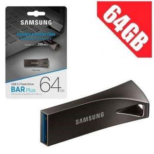 Samsung 64 GB USB Fast Data Traveler 3.1 Speed New Bar Shape