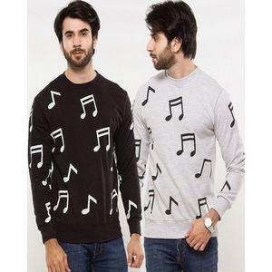 Pack Of 2 - Multicolor Fleece Sweatshirts For Men