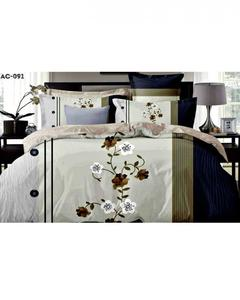Pure Cotton Hd Printed King Size Bed Sheet 3 Pieces