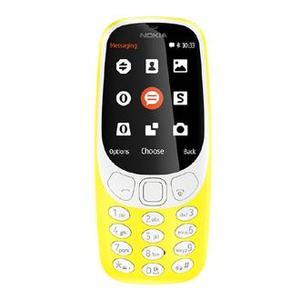 Nokia 3310 - Dual Sim - 2.4 inch Screen 16MB - 2 MP Camera - Yellow