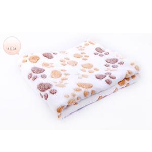 LALA Pet Crate Mat Winter Warm Cat Dog Bed Blankets Soft Fleece Padded Bolster Bed