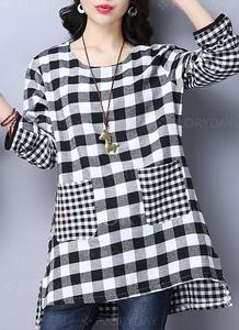 Lollypop Stylish Winter Checked Kurti For Women