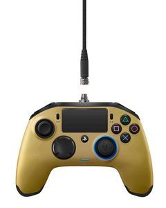 Nacon - Revolution Pro Controller Gamepad - PlayStation 4 - Gold Edition