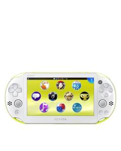 Playstation Vita Super Slim - 5.0'' - VGA Camera - Asian - Wi-Fi - Green/White