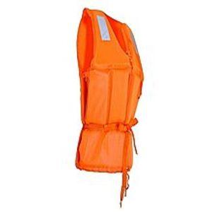 NAHEMedium Size Foam Swimming Buoyancy Aid Sailing Kayak Life Jacket Vest + Whistle - Orange