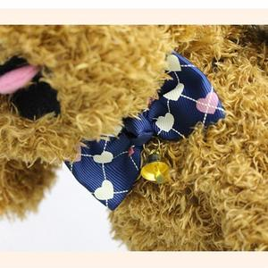 Cute Cats Dog Puppy Pet Collar Necklace Bownot Adjustable Bowtie with Bell