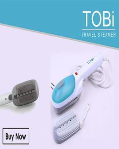 Travel Steam Iron - Blue & White