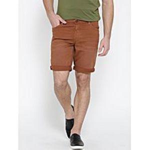 Daraz FashionMustard Denim Shorts For Men