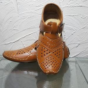 Brown Peshawari Sandals