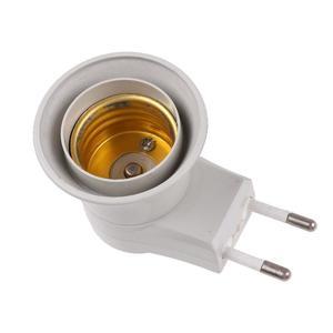 E27 Screw Lamp Bulb Socket Bases Holder Bracket LED Bulb Adapter w/Switch
