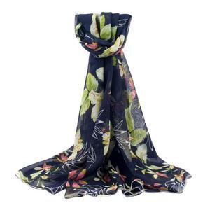 Women Printed Soft Chiffon Shawl Wrap Wraps Scarf Scarves