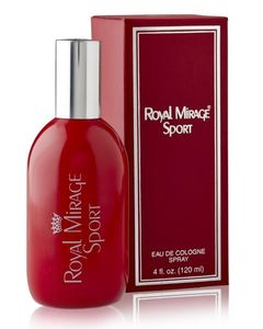 Unique Royal Mirage Sport Cologne Spray for Men - 120ml
