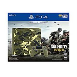 GameStopPlayStation 4 Slim 1TB Limited Edition Console - Call of Duty WWII Bundle
