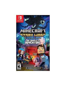 NINTENDO SWITCH DVD Minecraft: Story Mode - The Complete Adventure  NINTENDO SWITCH GAME