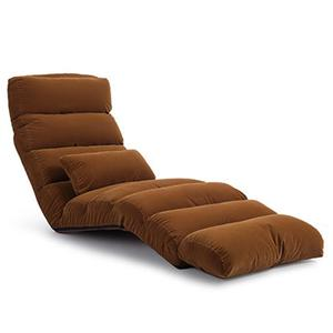 Portable Adjustable 3 Folding Lazy Sofa Chair Bed Couch Lounge Seat + Pillow