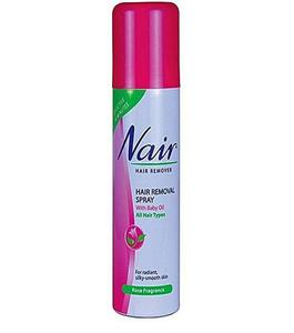 Hair Remover Spray with Baby Oil - 200ml