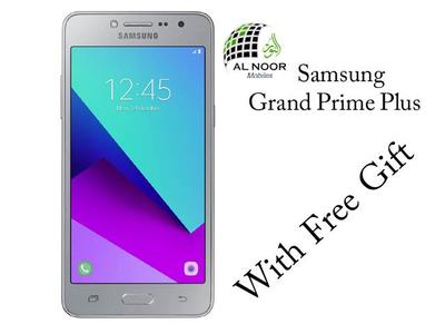Samsung Grand Prime Plus With Free Gift
