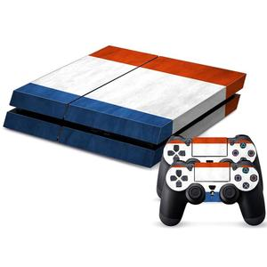 French Flag Pattern Decal Stickers for PS4 Game Console