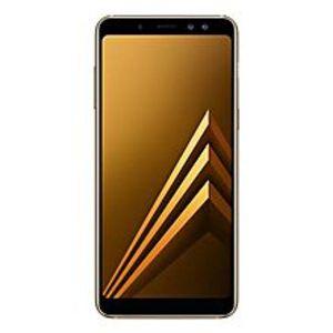 "SamsungA8 2018 - 5.6"" Infinity Display - FHD+ - 4GB RAM - 64GB ROM - 16/16/8 MP - Gold"