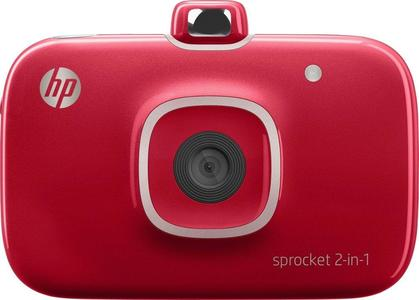HP Sprocket Photo Printer 2 in 1 - Red