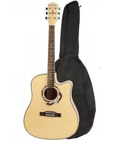 "41"" Marconi Acoustic Guitar Dreadnaught Blond Natural"