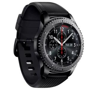 Original Samsung Gear S3 Frontier 4GB Rom Box packed - Black/ Space Grey