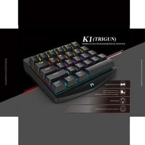 Bluetooth PUBG Mobile L1 R1 RGB Mechanical Keyboard Adapter Gamepad Controller Fire Aim Assist Tool For PUBG Game