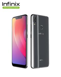 Infinix Hot S3X-Tradewinds Gray - 6.2'' FHD Display - 4GB RAM - 64 GB ROM - Fingerprint Sensor & Face Unlock