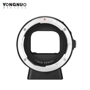 YONGNUO EF-E II Lens Mount Adapter Ring with Auto Focus for Canon EF/EF-S Series & YONGNUO Lens Compatible for Sony E-Mount Camera for Sony a6300 a6000 A7MII A7RIII A7
