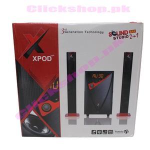 XPOD bluetooth woofer speaker sound bar studio 2 in 1