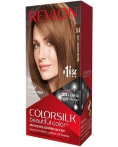 Color Silk 3D Technology USA For Men and Women No 54 Light Golden Brown