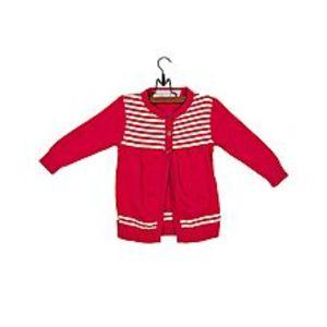 KhaylRed Cotton Stripe Sweater