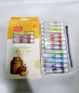 Oil Paints - Pack Of 12