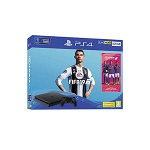 PS4 500GB FIFA 19 Bundle - with FIFA 19 Ultimate Team Icons and Rare Player Pack - PS4