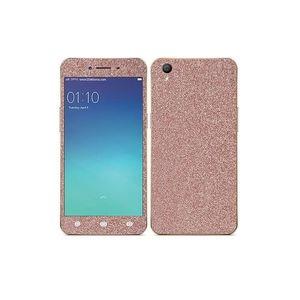 Oppo A37 Light Pink Glitter Skin