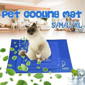 Pet Dog Mat Car Cool Ice Pad Teddy Mattress Mat Cooling Cushion Cats Bed Indoor Pad Seat Gel Sponge For Carrier Office Chairsizel