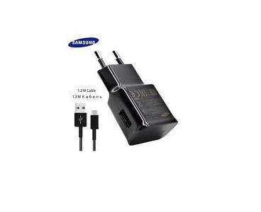 Universal Fast Charger Type-C Adaptive Quick Charger EU/US/KU Travel Charging 9V 1.67A & 5V 2A